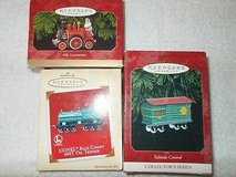 3 hallmark keepsake train ornament in Clarksville, Tennessee