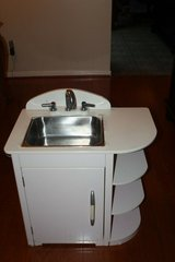 pottery barn kids retro play pretend kitchen collection sink in Kingwood, Texas