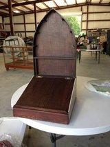 Vintage Wooden Church Stand in Houston, Texas