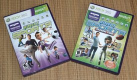 Microsoft Xbox 360 Kinect Sports Season 1 AND 2 Bundle Video Game Lot in Chicago, Illinois
