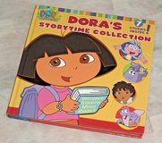 Vintage Nick Jr Dora The Explorer 7 Story Time Collection Hard Cover Book Nickelodeon in Joliet, Illinois