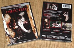 NEW Infected DVD Zombie Horror Suspense Bloody Violence and Gore in Yorkville, Illinois