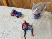 """Mixed lot of SPIDER-MAN Figures 3"""" to 5"""" tall. 3 pcs. in Kingwood, Texas"""