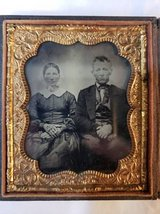 Four rare Ambrotypes, .ca 1860 in Camp Pendleton, California