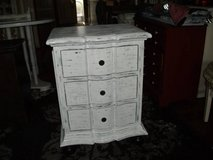 LOW PROFILE SMALL CHEST OF DRAWERS ALL WOOD in Naperville, Illinois
