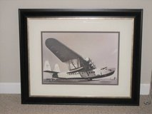 ART - MATTED & FRAMED SIKORSKY AIRPLANE PRINT - Unique in Joliet, Illinois