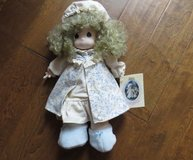 Vintage Precious Moments Doll Dawn In Nightgown Robe Cap Slippers #1057 in Macon, Georgia