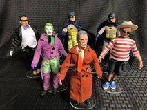 Six Batman TV Series Retro 8'' Mego Action Figures in Camp Pendleton, California
