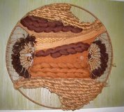 Don Freedman Fiber Textile Art Wall Hanging Original 1970s in Camp Lejeune, North Carolina