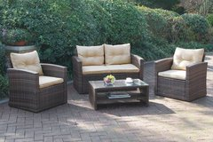 New! Outdoor Patio Loveseat + 2 Chairs + Table Set FREE DELIVERY in Camp Pendleton, California