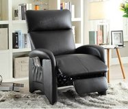 New Black Leatherette Recliner Chair FREE DELIVERY in Camp Pendleton, California