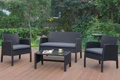 New! 4 Piece Outdoor Set Patio Table + 2 Chairs + Sofa FREE DELIVERY in Camp Pendleton, California