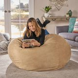 New Lila Faux Suede Bean Bag in Lockport, Illinois