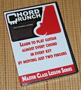 NEW Chord Crunch DVD Learn To Play Guitar Master Class Lesson Series in Plainfield, Illinois