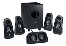 New logitech z506 150w 5.1ch speakers surround sound speakers with aux line in in Lockport, Illinois
