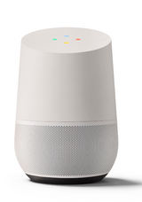 New google home personal assistant smart speaker - white/slate in Bolingbrook, Illinois