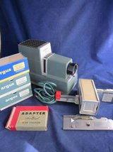 ARGUS 300 Slide Projector Automatic Slide Changer 4 Magazines GUARANTEED in Aurora, Illinois