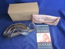 WWII ARMY AIR FORCES TYPE B8 POLAROID Flying Goggle Aviation Kit BOX in Bolingbrook, Illinois