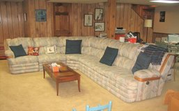 H. BRIAN Sofa / Sectional with Queen Sofa Bed in Bolingbrook, Illinois