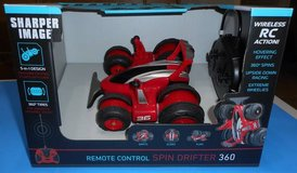 (RC2) Sharper Image R/C Spin Drift 360 Red (New) in Spring, Texas