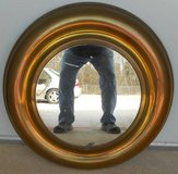 (# 17) Round Brass Mirror (Used) in The Woodlands, Texas