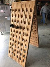 Cedar Wine Rack Holds 120 Bottles in Baytown, Texas