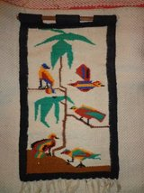 HANDWOVEN WALL HANGING WITH COLORFUL BIRDS in DeKalb, Illinois