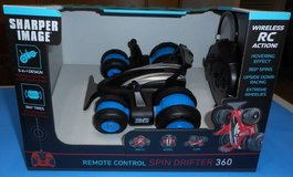 (RC7) Sharper Image R/C Spin Drift 360 Blue (New) in Spring, Texas