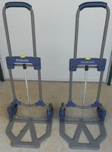 (# 34) Set of 2 Fold Up Hand Carts (Used) in The Woodlands, Texas