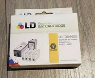 ld t054420 t0544 yellow reman ink cartridge for epson printer in 29 Palms, California