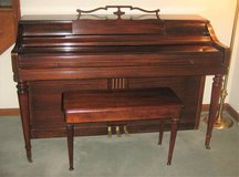 Wurlitzer Spinet Piano - Vintage 1950's in Yorkville, Illinois