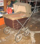 Vintage (maybe Antique) Baby Buggy in Yorkville, Illinois