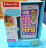 (12) Fisher Price Leave a Message Smartphone Pink (New) in Spring, Texas