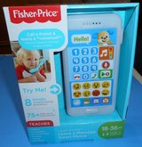 (R3) Fisher Price Leave a Message Smartphone Blue (New) in Spring, Texas