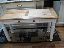 COUNTRY ALL WOOD FOYER/ SOFA TABLE MINT in Naperville, Illinois