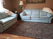 Couch, Love Seat, and Matching Carpet in Fort Campbell, Kentucky