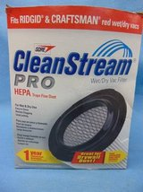 CLEANSTREAM PRO, HEPA WET/DRY VAC FILTER in Westmont, Illinois