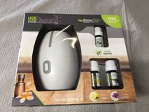 Aroma diffuser with oils brand new in Naperville, Illinois