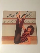 jane fonda's workout record double lp vinyl album in Bolingbrook, Illinois