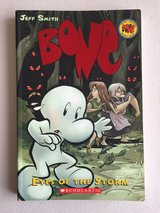 Bone Eyes of the Storm by Jeff Smith Soft Cover Comic Book Scholastic Grade 4th - 7th in Joliet, Illinois