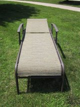 Outdoor Patio Chaise Reclining Lounge Chair in Chicago, Illinois