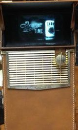 FIRST TRANSISTOR, BATTERY-POWERED PORTABLE TV! in Chicago, Illinois