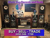 Wanted Vintage Audio equipment and Media in Plainfield, Illinois