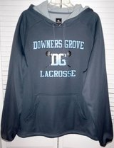 Like New! Downers Grove LaCrosse Champion Pullover Hoodie Jacket in Westmont, Illinois