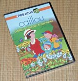 NEW PBS Kids Caillous Garden Adventures DVD Features Coloring Pages & Activities in Plainfield, Illinois