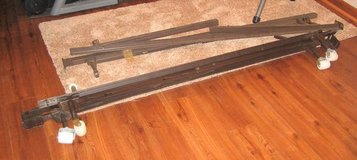 Steel Double/Queen Size Bed Frame in Lockport, Illinois