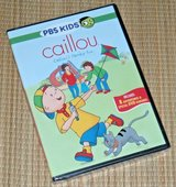 NEW PBS Kids Caillous Family Fun DVD Features Coloring Pages & Interactive Games in Joliet, Illinois