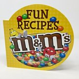 M&M's Fun Recipes Hard Cover Board Cook Book Treats Cook with Kids in Joliet, Illinois