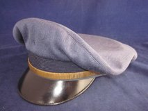 WWII ARMY AIR FORCES Pilot Hat Eagle Brand Military Size 7 1/2 7.5 in Naperville, Illinois