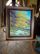 Large Oil painting in nice wood frame in Alamogordo, New Mexico